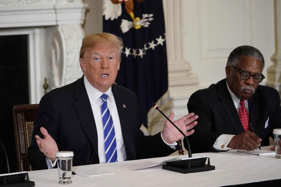 L'administration Trump doit esquisser les grandes lignes de... (PHOTO MANDEL NGAN, AFP)
