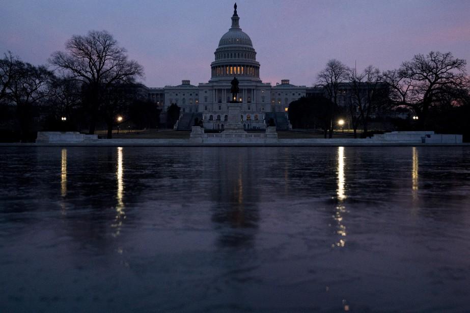 L'édifice du Capitole.... (Photo Andrew Harnik, archives Associated Press)