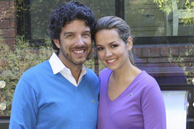 Jean Airoldi et Valérie Taillefer posent pour une... (photo fournie par canal vie)