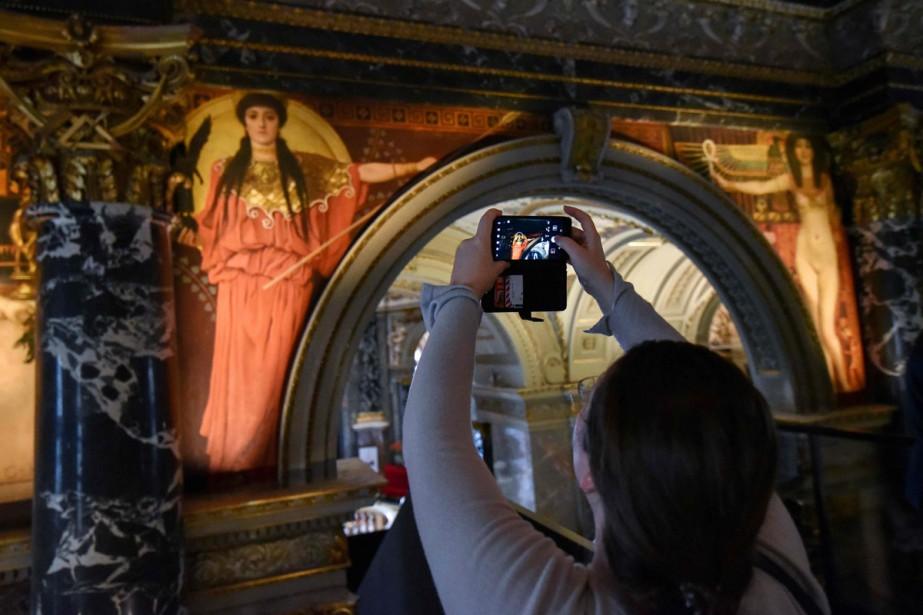 Treize tableaux du maître du Modernisme viennois destinés... (Photo AFP)