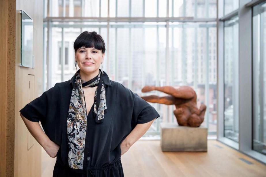 Nathalie Bondil, directrice du Musée des beaux-arts de... (PhotoMARCO CAMPANOZZI, archives La Presse)