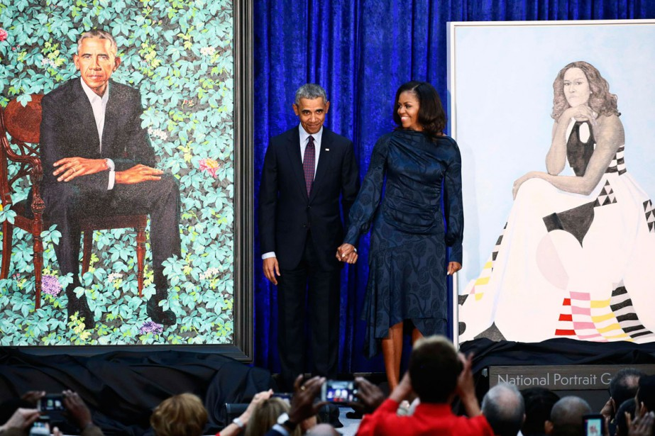 La National Portrait Gallery de Washington a dévoilé... (PHOTO REUTERS)