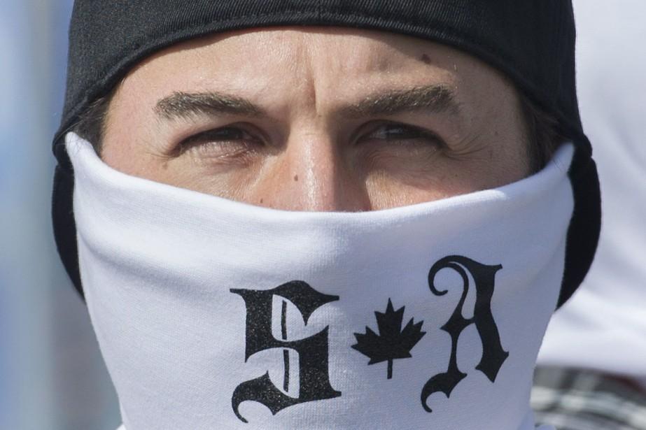 Un membre de Storm Alliance.... (Photo archives La Presse canadienne)