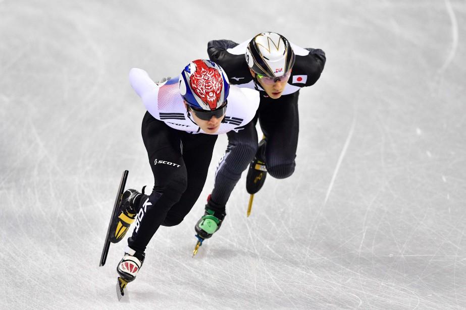 Kei Saito (à droite) a participé samedi au... (PHOTO AFP)