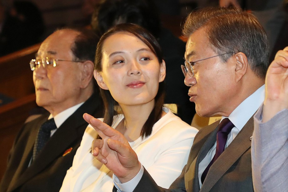 Les Sud-Coréens ont été fascinés par la soeur... (Photo Agence France-Presse)