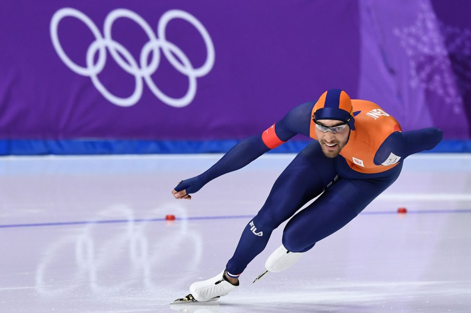 Kjeld Nuis a remporté la plus récente médaille... (Photo Aris Messinis, Agence France-Presse)