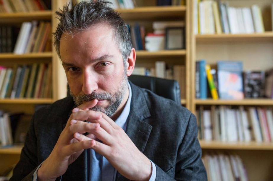 Jean-Simon Desrochers, auteur de La canicule des pauvres... (PHOTO SIMON GIROUX, archives LA PRESSE)