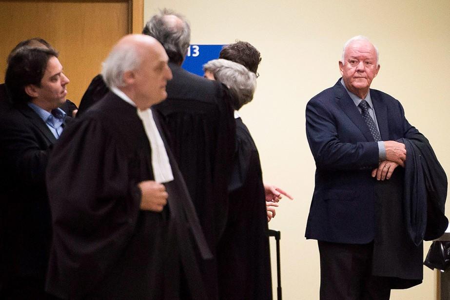 Marc-Yvan Côté figure à droite sur cette photo... (Jacques Boissinot, archives PC)