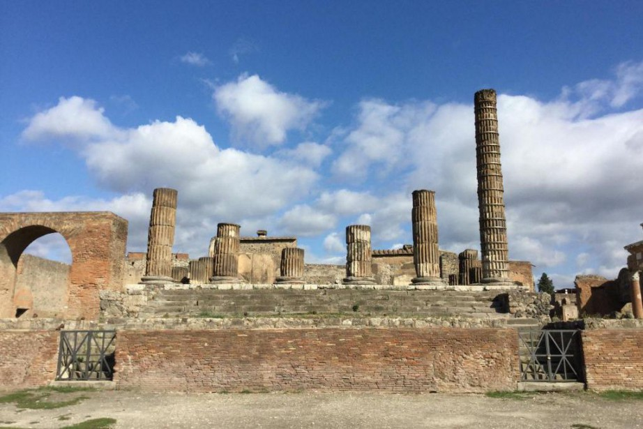 Le plus grand site archéologique d'Italie se trouve... (Photo Philippe Beauchemin, La Presse)