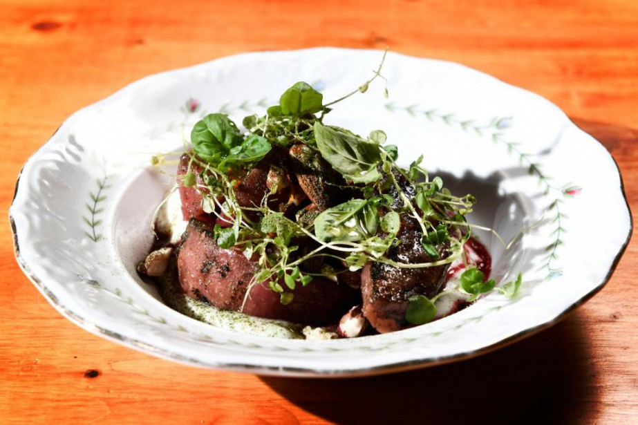 Salade de betteraves... (Photo Bernard Brault, La Presse)