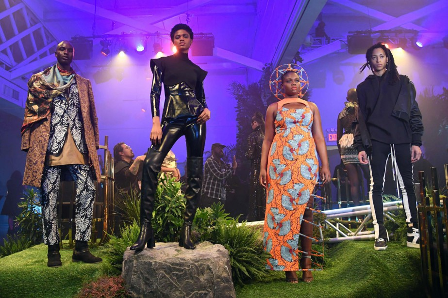 Black Panther passe par la Fashion Week | Thomas Urbain | Mode
