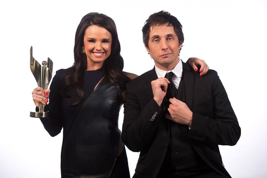 Emma Hunter et Jonny Harris animeront la soirée... (Photo La Presse Canadienne)