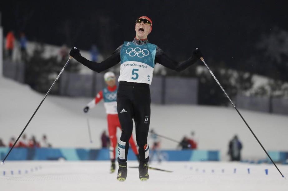 Cinquième après le saut et idéalement placé (36... (Photo Kirsty Wigglesworth, Associated Press)