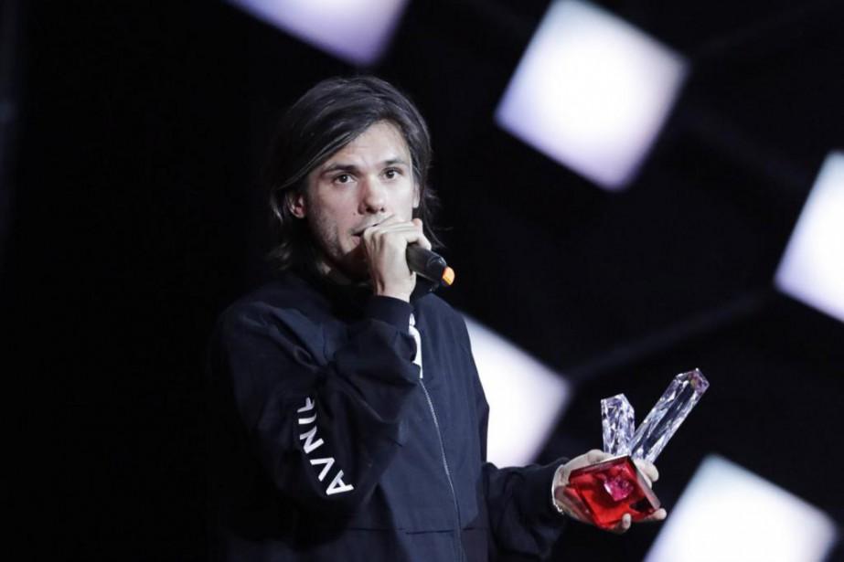 Le rappeur français Orelsan a remporté, vendredi dernier,trois... (Photo Thomas Samson, Agence France-Presse)