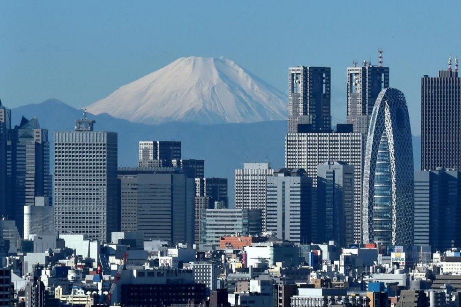 Le mont Fuji, vu de Tokyo... (Photo Kazuhiro Nogi, archives Agence France-Presse)