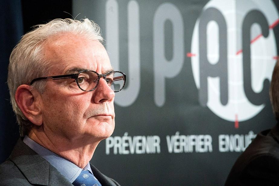 Lecommissaire de l'Unité permanente anticorruption (UPAC), Robert Lafrenière.... (Ryan Remiorz, archives PC)