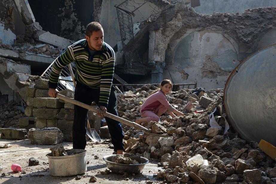 «L'engagement de la communauté internationale envers l'Irak a... (AFP)