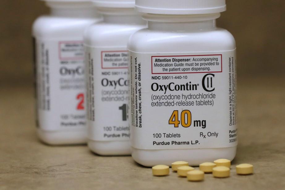 L'OxyContin, vendu par Purdue Pharma, est en première... (Photo George Frey, archives REUTERS)