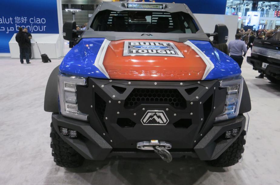 Le véhicule d'intervention d'urgence Ford F-5502018 préparé par Skeeter Brush... | 2018-02-14 00:00:00.000