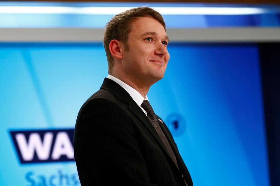 L'élu de l'AfD André Poggenburg a notamment qualifié... (PHOTO REUTERS)
