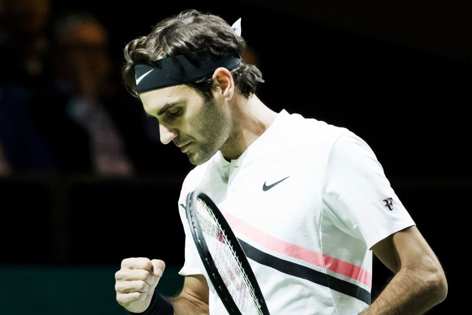 Roger Federer... (Photo Koen Suyk, AFP)
