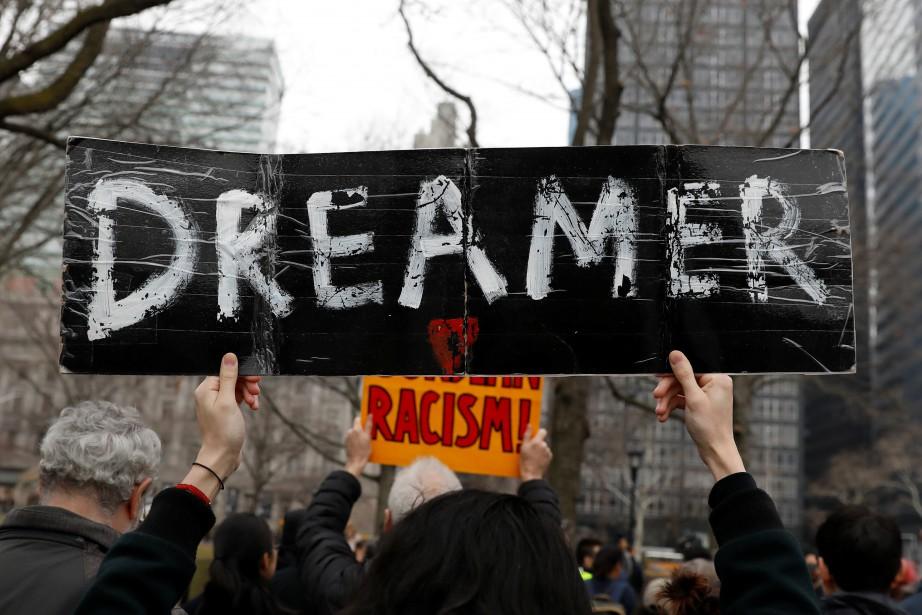 Quelque 690 000 «Dreamers» sont protégés de l'expulsion... (PHOTO REUTERS)