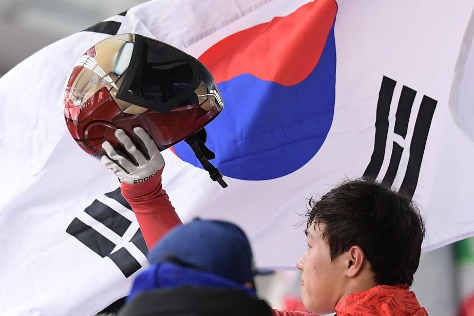 Yun Sungbin... (PHOTO MOHD RASFAN, AFP)
