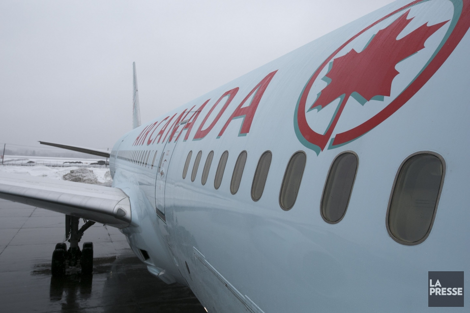 Air Canada affirme que l'incident s'est produit sur... (PHOTO FRANÇOIS ROY, archives LA PRESSE)