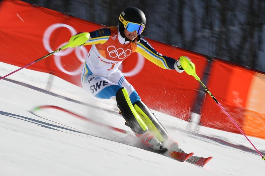 Frida Hansdotter (photo) est devenue la deuxième skieuse... (Photo Fabrice Coffrini, Agence France-Presse)