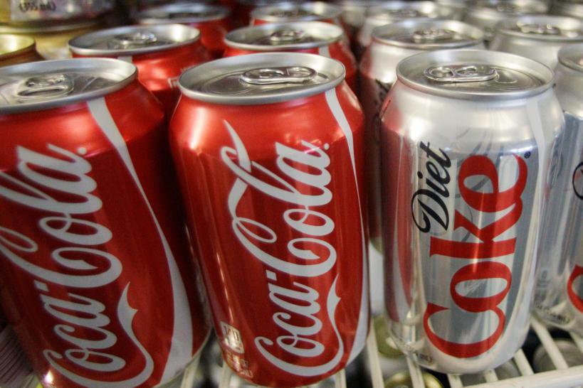 Le chiffre d'affaires de Coca-Cola a baissé de... (PHOTO ARCHIVES ASSOCIATED PRESS)