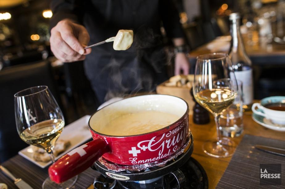 Quel vin blanc boire avec une fondue au... (PHOTO EDOUARD PLANTE-FRÉCHETTE, La PResse)