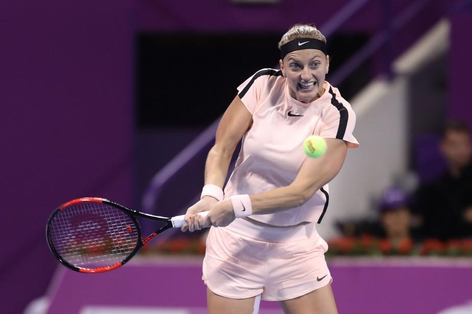 Petra Kvitova... (Photo KARIM JAAFAR, AFP)