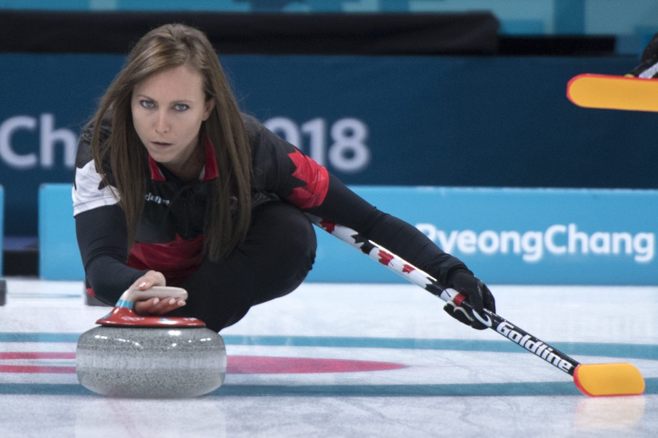 Rachel Homan.... (Photo Paul Chiasson, La Presse canadienne)