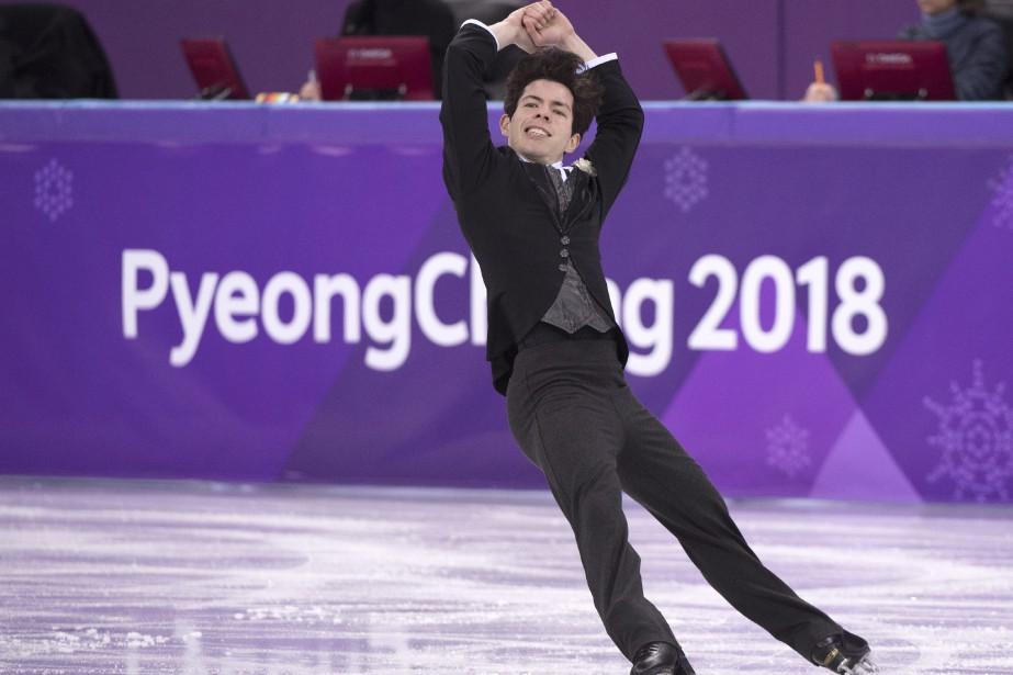 Le patineur Keegan Messing, classé deuxième au Canada,... (Photo Paul Chiasson, La Presse Canadienne)