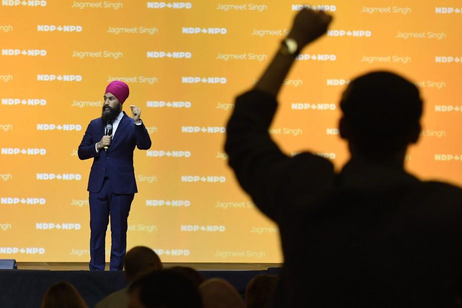 Jagmeet Singh... (Photo La Presse canadienne)