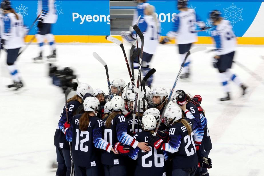Les États-Unis affronteront le gagnant du match entre... (Photo Grigory Dukor, Reuters)
