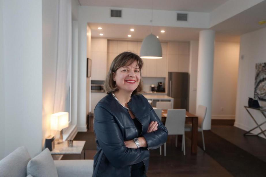 Annie Lemieux, présidente de LSR Gesdev... (Photo Martin Chamberland, La Presse)
