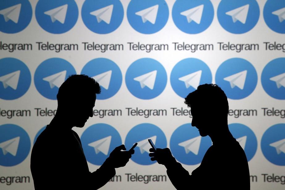 La messagerie Telegram est avant tout connue pour... (ILLUSTRATION DADO RUVIC, ARCHIVES REUTERS)