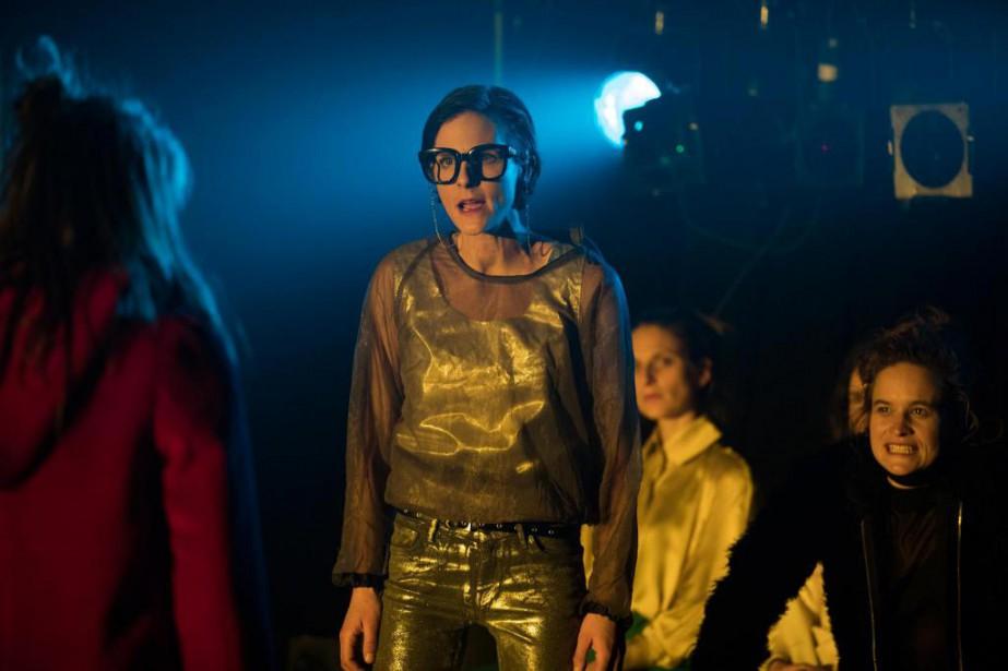 Une comédienne blanche, Dominique Leclerc, interprète le brutal... (PhotoCharles Fleury, fournie par le Prospero)