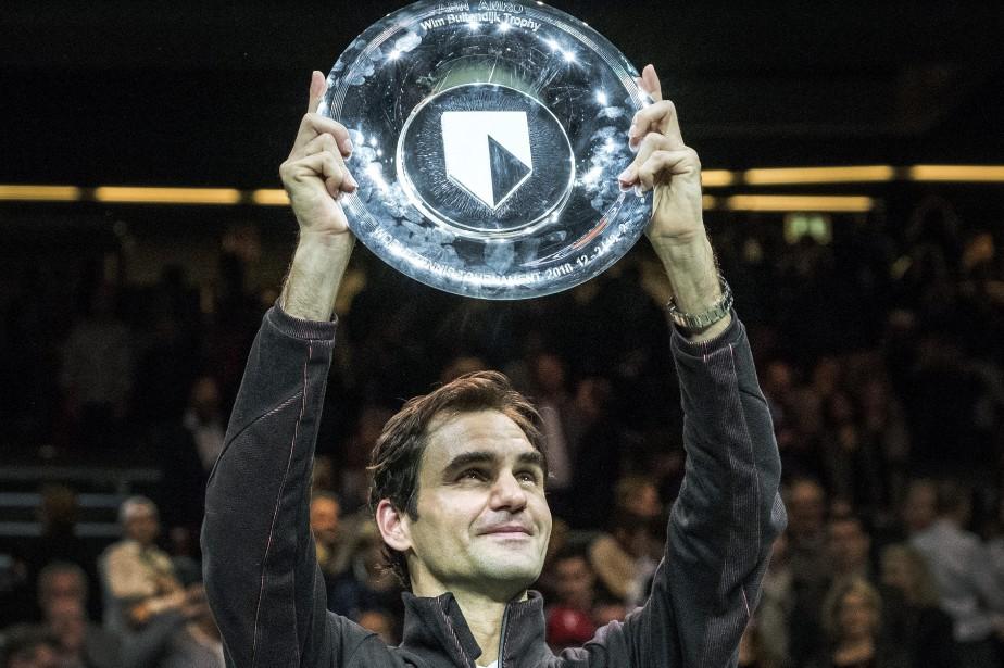 Roger Federer a remporté le tournoi de Rotterdam,... (Photo Patrick Post, AP)