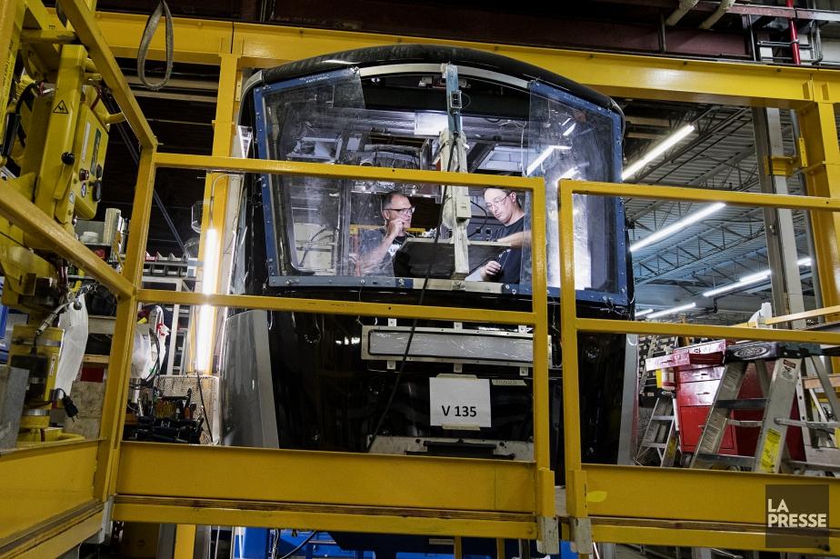 Préoccupés par l'avenir de Bombardier à La Pocatière,... (Photo Alain Roberge, archives La Presse)