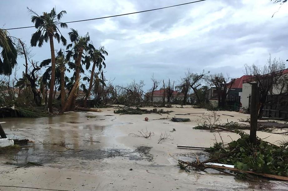 Irmaa dévasté Saint-Barthélemy et Saint-Martin le 6septembre dernier.... (Photo Agence France-Presse)