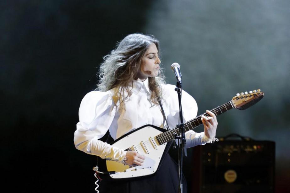 La chanteuse française Fishbach est une digne héritière... (PhotoThomas SAMSON, Archives Agence France-Presse)