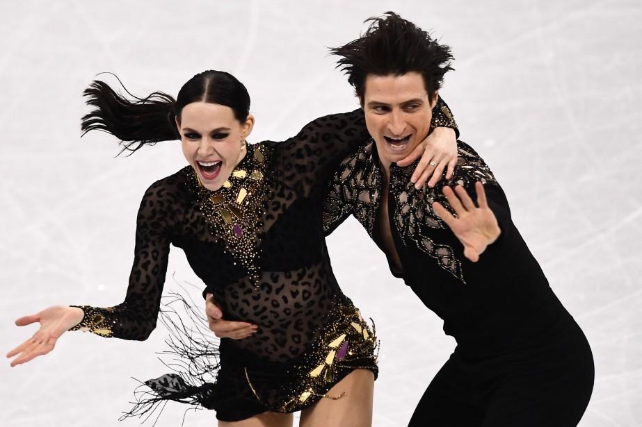 Tessa Virtue et Scott Moir... (Photo Aris Messinis, AFP)