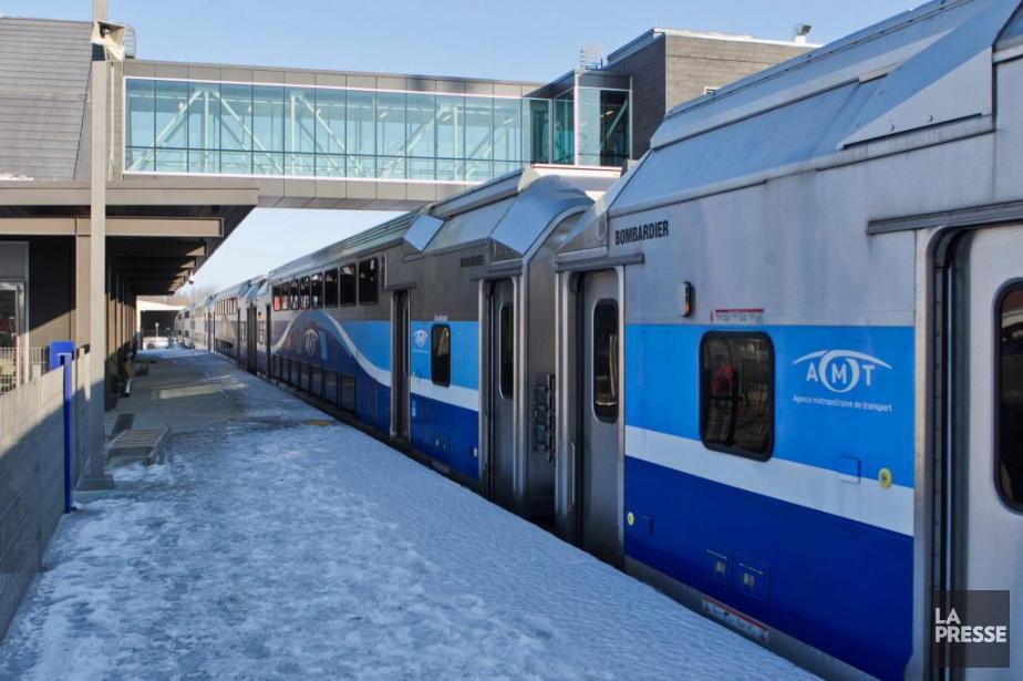 La ponctualité du réseau de trains de banlieue... (PHOTO HUGO-SÉBASTIEN AUBERT, ARCHIVES LA PRESSE)