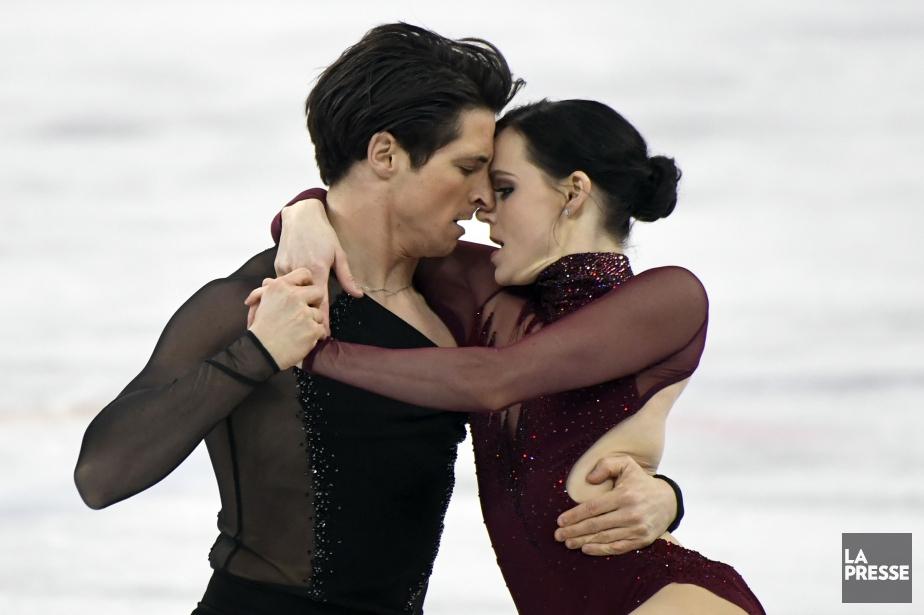 Dans ce qui était probablement leur dernière compétition,... (Photo Bernard Brault, La Presse)
