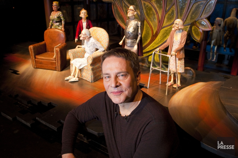 Ronnie Burkett... (Photo André Pichette, La Presse)