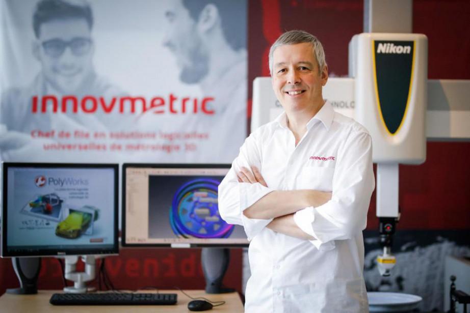 Marc Soucy, PDG d'InnovMetric... (PHOTO MATHIEU BÉLANGER, COLLABORATION SPÉCIALE)
