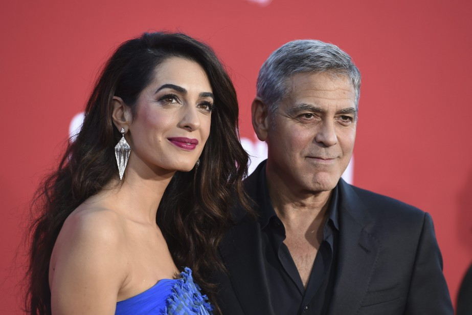 «Amal et moi sommes si inspirés par le... (Jordan Strauss/Invision/AP)