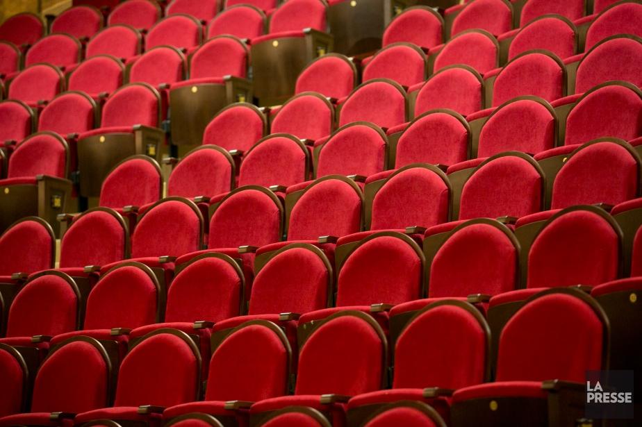 Les sièges du théâtre Rialto.... (PHOTO DAVID BOILY, LA PRESSE)